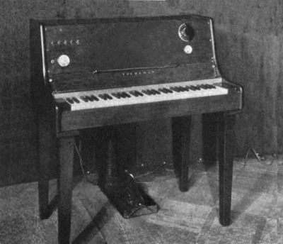 A keyboard theremin