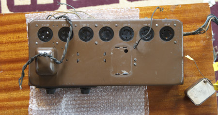 RCA Theremin #20018 with a transformer being replaced